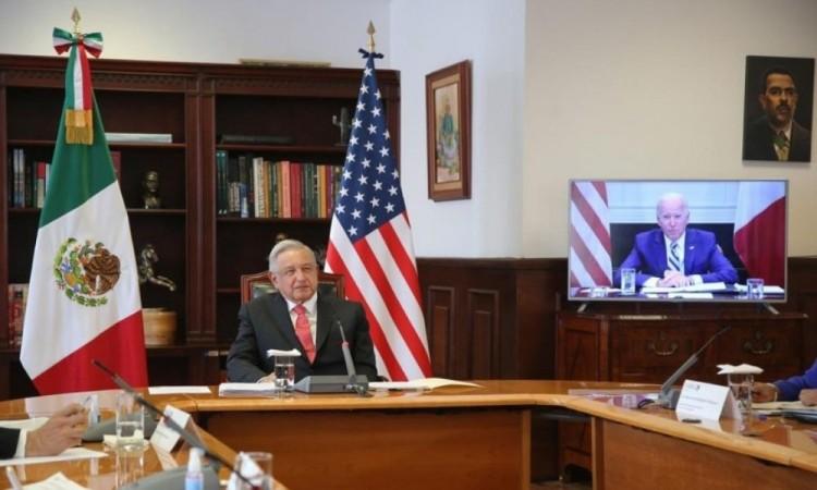 La integración fortalecerá a ambos países: AMLO a Biden durante su encuentro