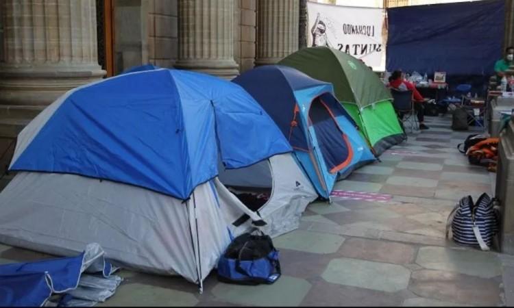 ¿Qué significa el campamento en Guanajuato montado por familias de desaparecidos?