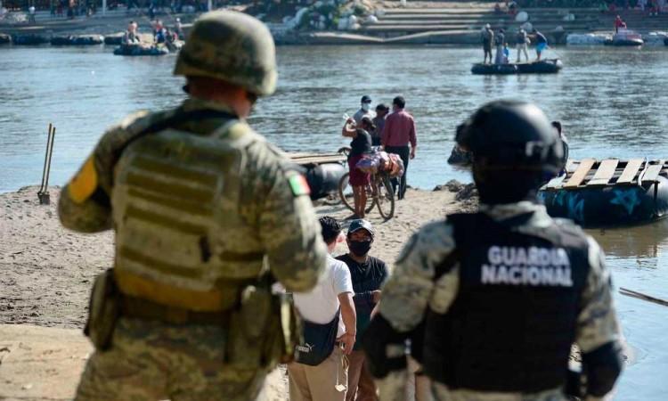 Refuerzan seguridad en la frontera con Guatemala