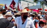 Félix Salgado señala hostigamiento por parte del INE