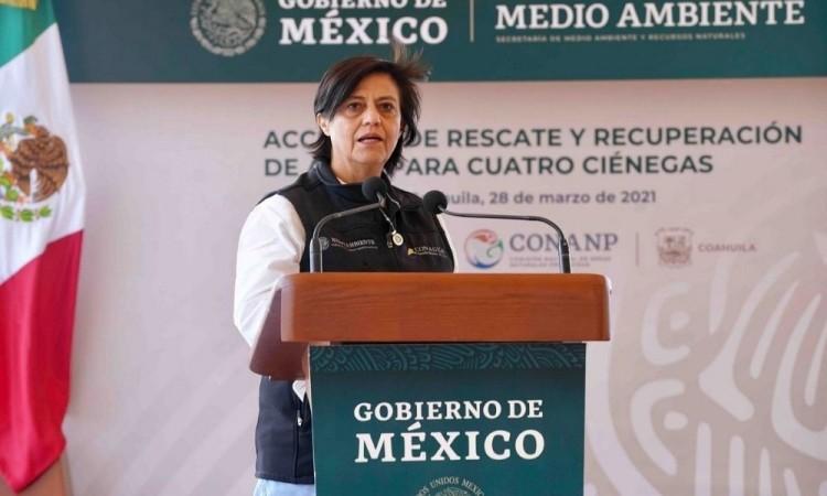 Deja Blanca Jiménez Conagua, AMLO la propone como embajadora en Francia