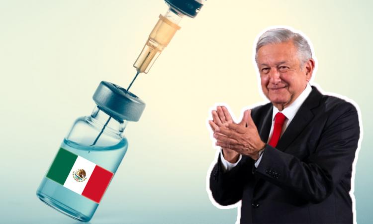 AMLO promete buena noticia sobre vacuna mexicana Patria