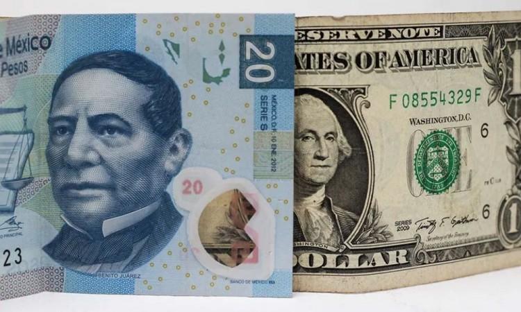 El dólar baja de los 20 pesos, llega a su mejor nivel mejor en 2 meses