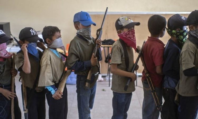 Guardia Nacional ya trabaja en Guerrero por lo que no se debe utilizar a los niños: AMLO