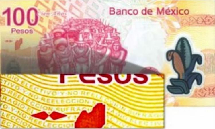 Aumenta precio del billete de 100 pesos por error de impresión