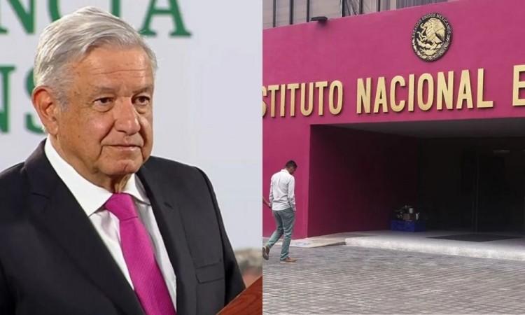 AMLO busca que el INE sea imparcial y descartó su desaparición