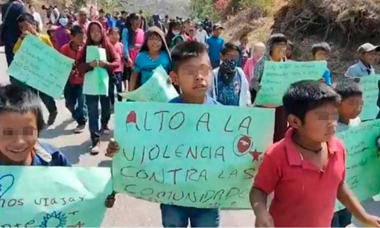 En el Día del Niño, menores de Guerrero marchan contra la violencia