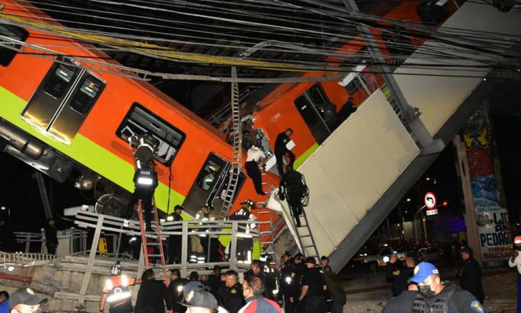 Al menos 23 muertos y 65 hospitalizados al desplomarse la Línea 12 del metro de CDMX