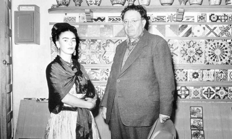 Subastarán imágenes icónicas de la vida de Diego Rivera