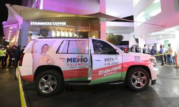 Atacan a balazos al candidato Guillermo Valencia Reyes del PRI de Morelia