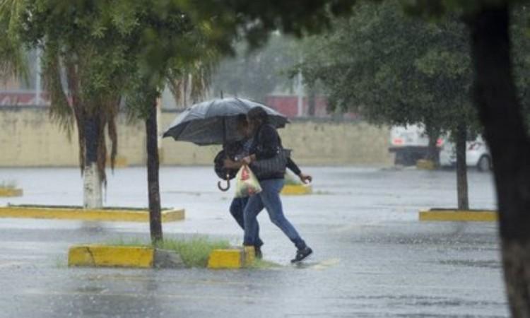 Se pronostican lluvias fuertes en el país las próximas horas