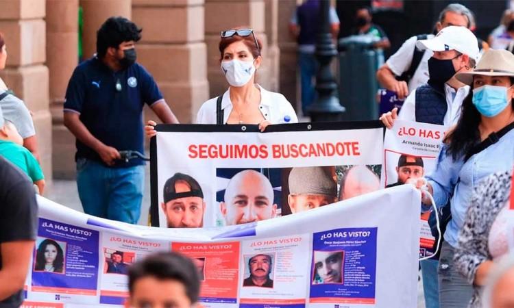 Caravana de familiares busca a desaparecidos en Guanajuato