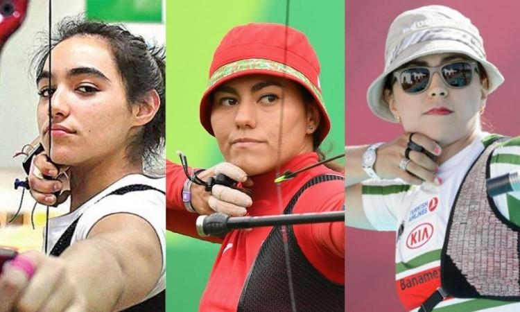 Plata para México en la final femenina de tiro con arco recurvo