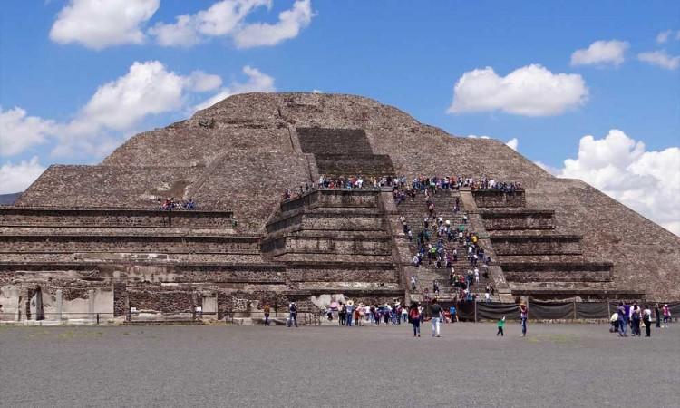 FGR asegura terreno cerca de las pirámides de Teotihuacan por obras no autorizadas