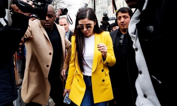 La esposa del Chapo se declara culpable de narcotráfico y blanqueo en EU