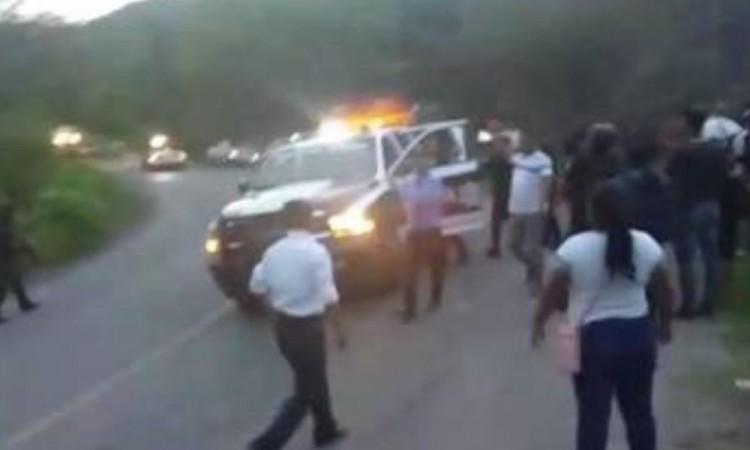 Militantes de Morena y el Verde se enfrentan a balazos en Chiapas