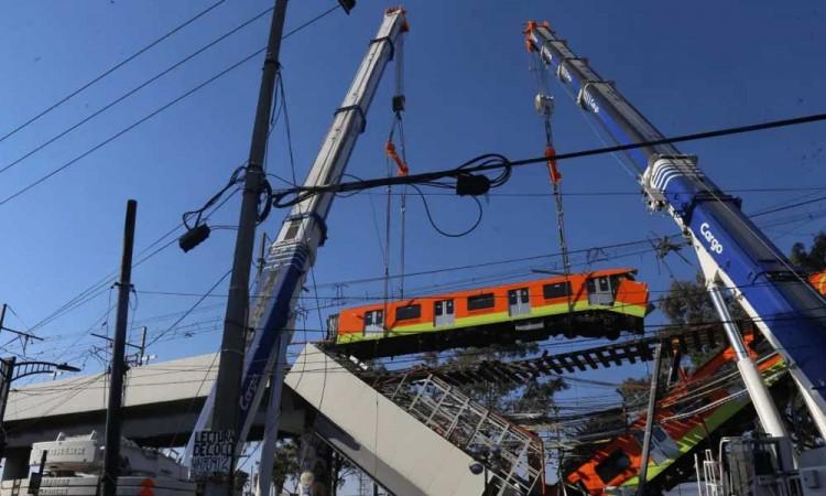 Peritaje preliminar indica que accidente de la línea 12 del metro se debió a una falla estructural