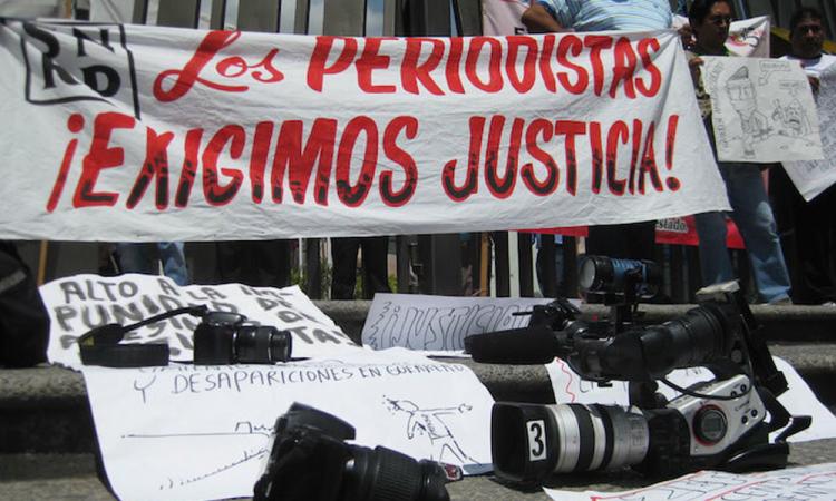 ONU-DH condena el asesinato de dos periodistas mexicanos en los últimos días