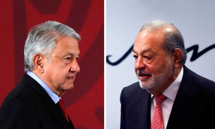 Va a pagar todo dice AMLO sobre la reparación de la línea 12 del metro que cubrirá Carlos Slim