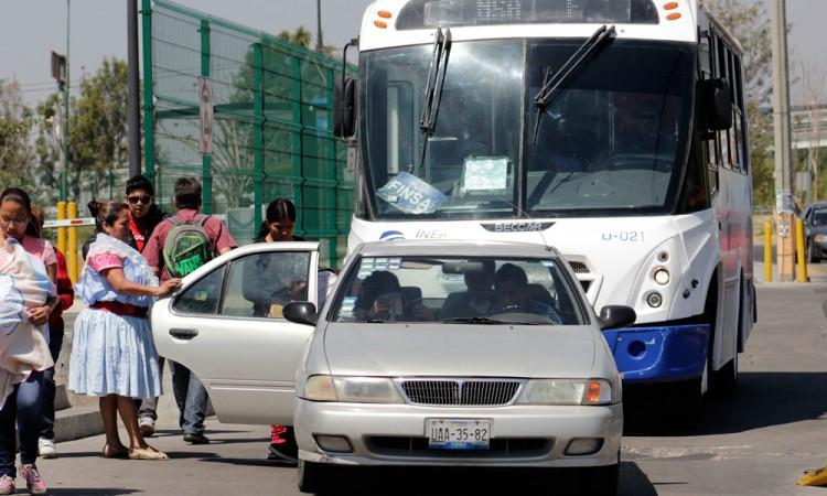 Prefieren usuarios taxis pirata a Ruta Periférico