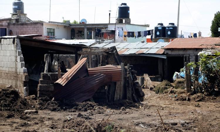 Dan marcha atrás a reconstrucción de casas en Esperanza