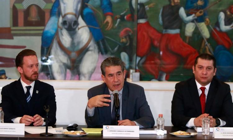 Estrategia contra el huachicol nació con Moreno Valle: Diódoro Carrasco