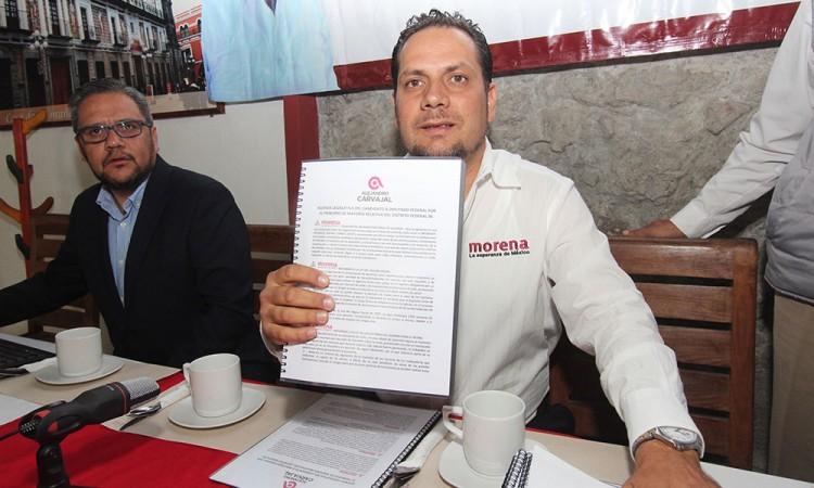 Alejandro Carvajal presenta plataforma legislativa