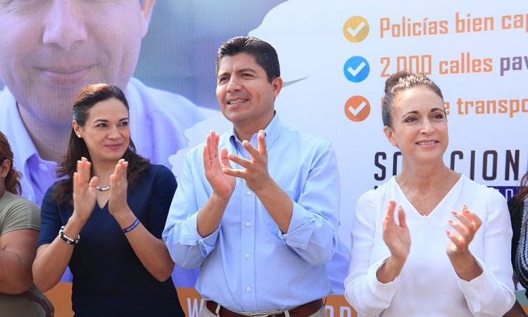 Gobernará mejor Eduardo Rivera con segunda oportunidad: Díaz de Rivera