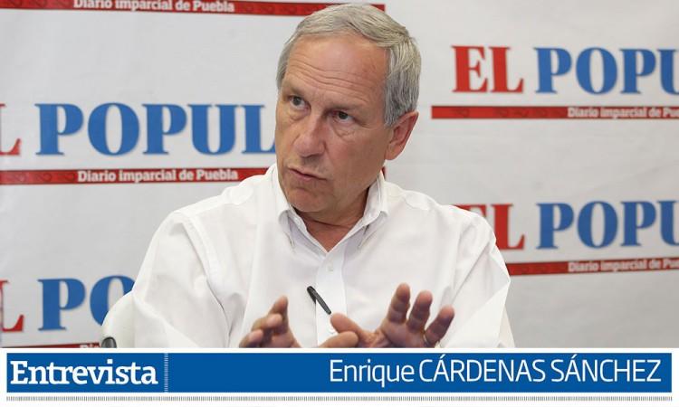 Enrique Cárdenas: Lo que quería era competir, poder presentar opciones