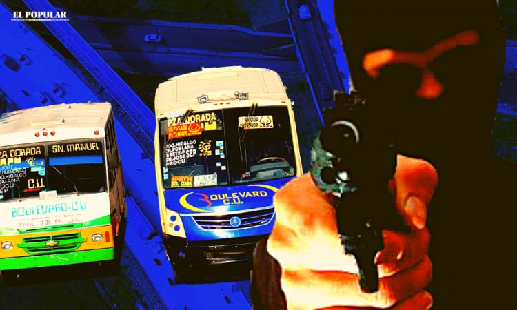 Asesinato y robo, imparables en Puebla