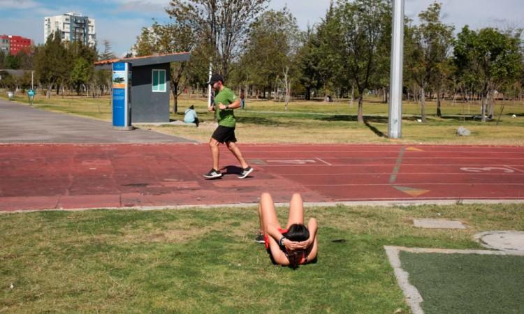 A mediados de enero, poblanos comienzan con actividades físicas