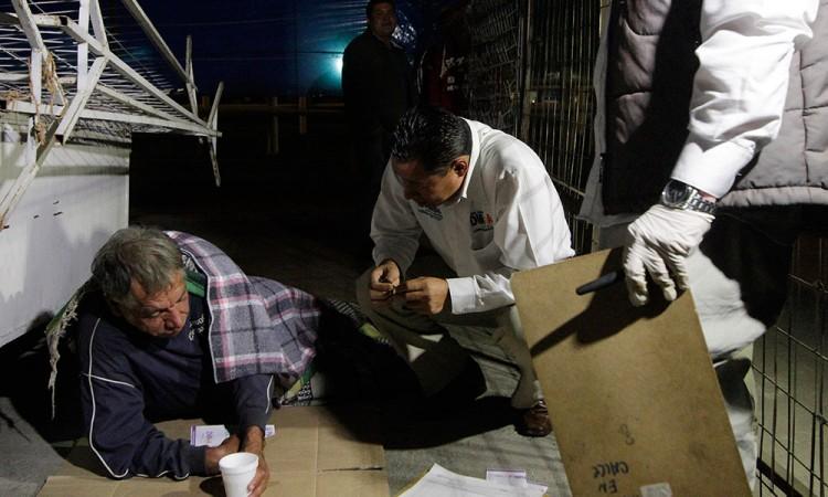 En un mes, SEDIF brinda apoyo a 118 indigentes de la ciudad