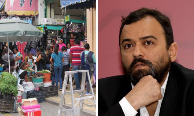 Dispuesto Ayuntamiento a trabajar con Barbosa para reordenar ambulantes