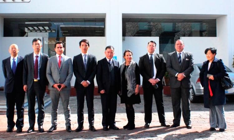 Evalúan empresarios de China proyectos de inversión en Puebla