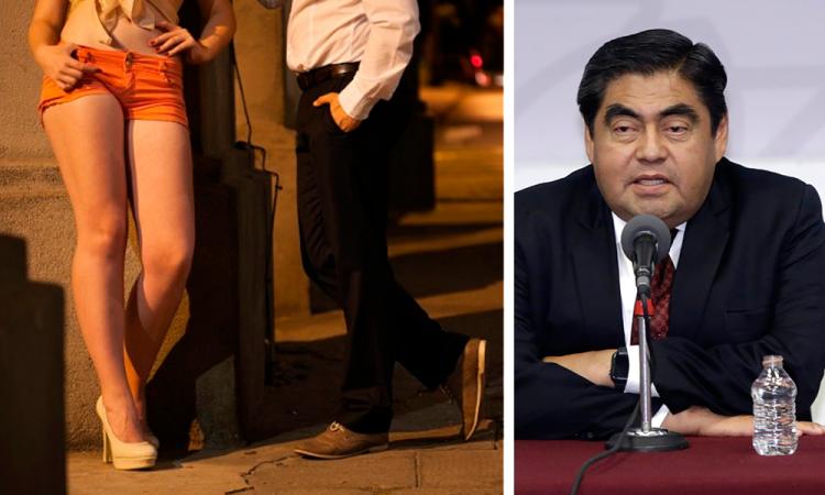 Prostitución debe regularse en Puebla: Barbosa