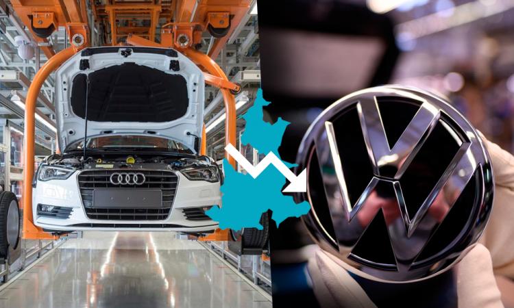 Se desploma venta de vehículos Audi y VW en 2019