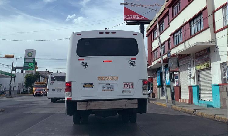Usuarios, sin esperanzas a que mejore transporte en Puebla