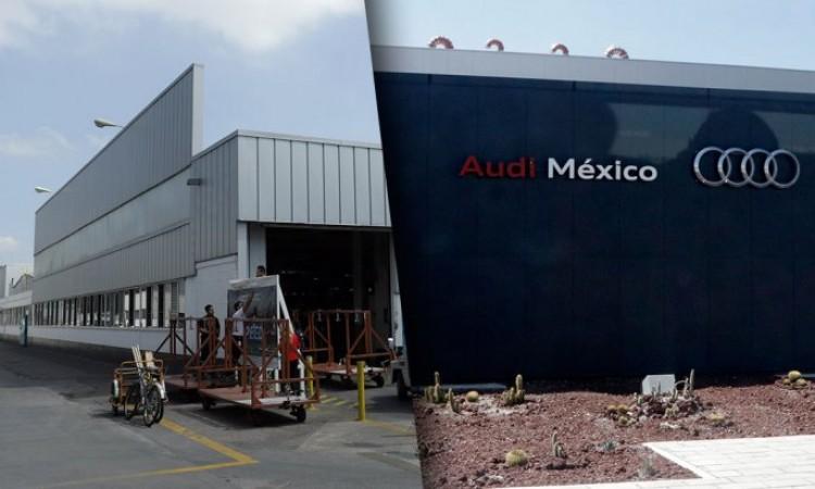 Volkswagen entra en paro técnico, Audi retoma la producción