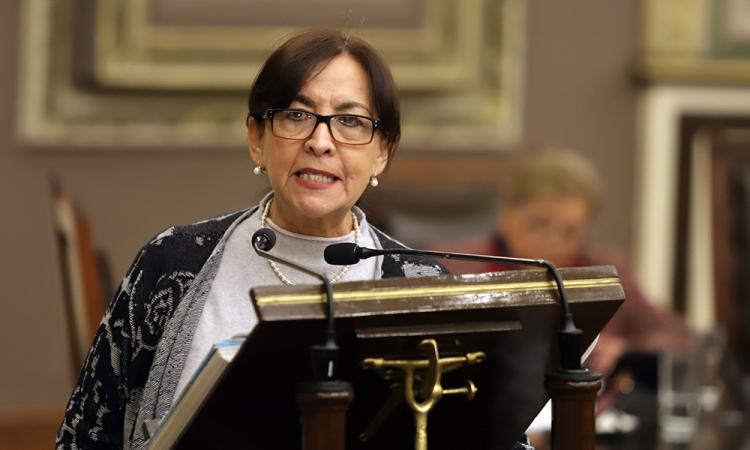 Rechaza García Olmedo eliminar figura de feminicidio de Código Penal