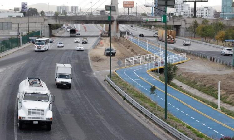 Por inseguridad, ciclovías son poco frecuentadas por poblanos