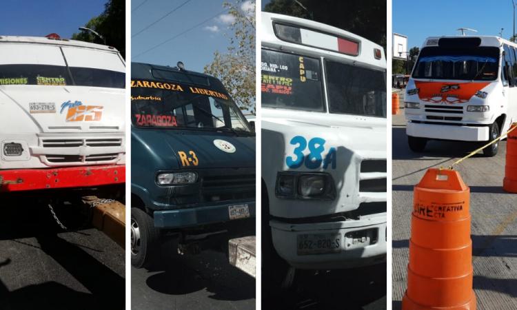 Aseguradas unidades de transporte público por no cumplir con modernización