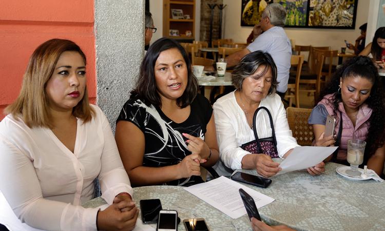 Colectivo Carmen Serdán no permitirá que oportunistas se cuelguen del movimiento