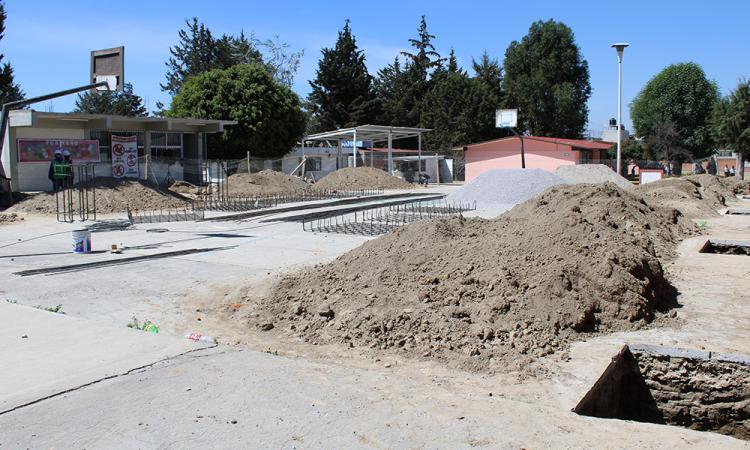 Inicia rehabilitación de 102 escuelas en estado de Puebla