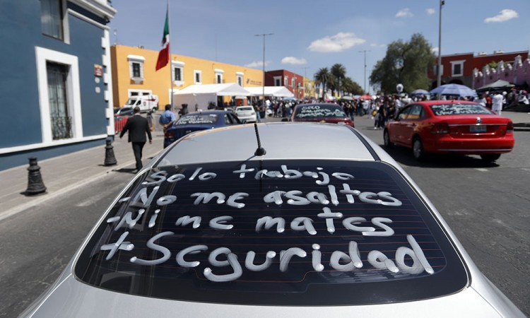 Detectan zonas de Puebla con más inseguridad para Uber y Didi