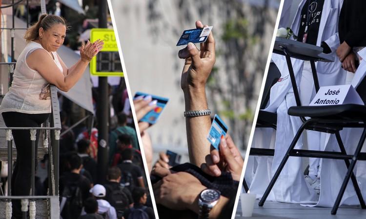 Fotos: Estudiantes, unidos contra la inseguridad en Puebla