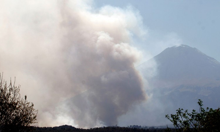 Registran 38 incendios en Puebla, en lo que va del año