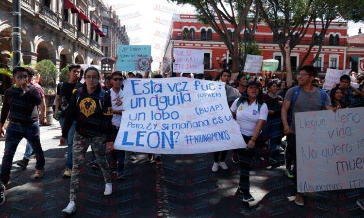 Se extiende la unión estudiantil por inseguridad en Puebla