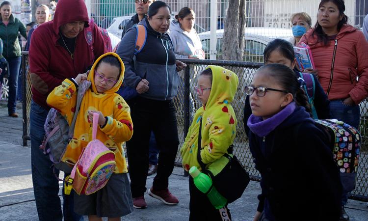 Escuelas sin protocolos de seguridad para entrada y salida de los niños