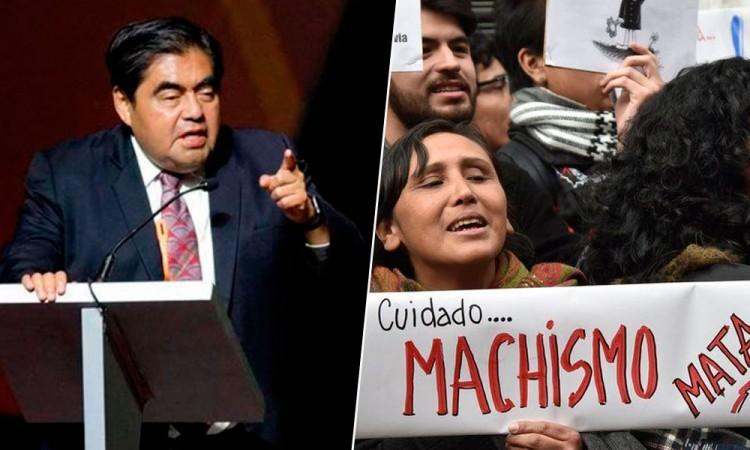 Por machismo, en Puebla habrá más feminicidios: Barbosa