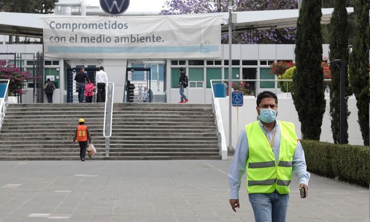 Registra Volkswagen un nuevo caso positivo de Coronavirus